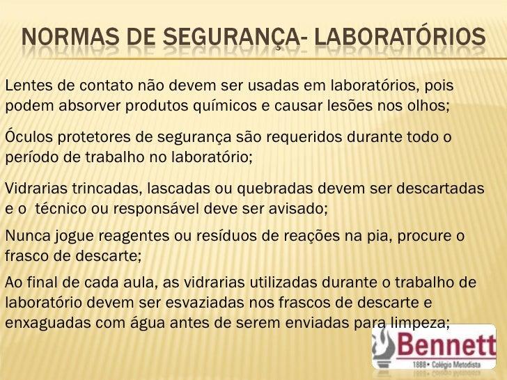 Principais reagentes quimicos usados em laboratorio