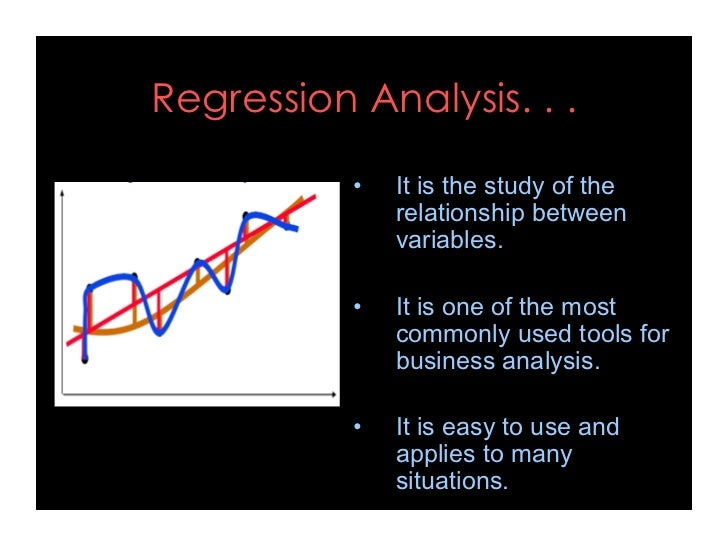 Regression analysis Slide 3