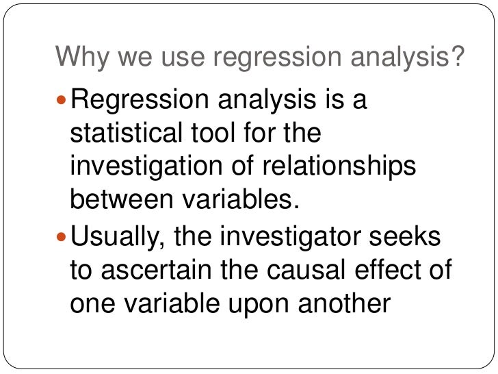 an analysis of the purpose of linear correlation and the variables affecting each other Correlation correlation (pearson generalized linear models [ view all ] factor analysis adding independent variables to a linear regression model will always.