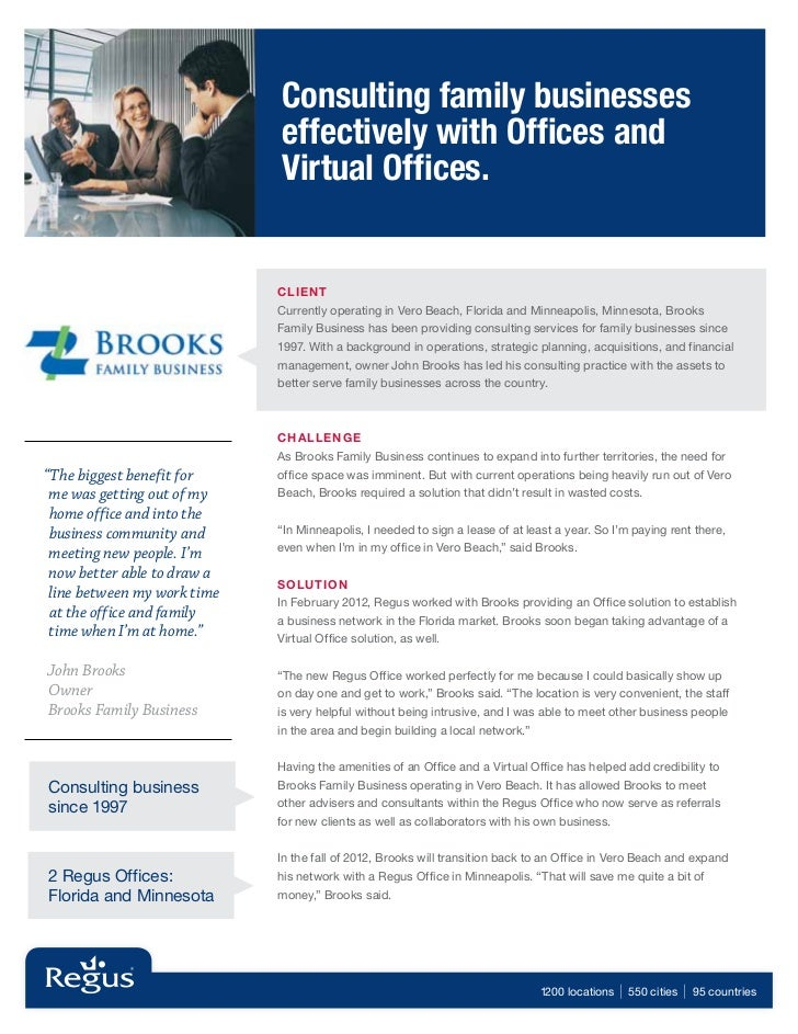 Consulting family businesses                             effectively with Offices and                             Virtual ...