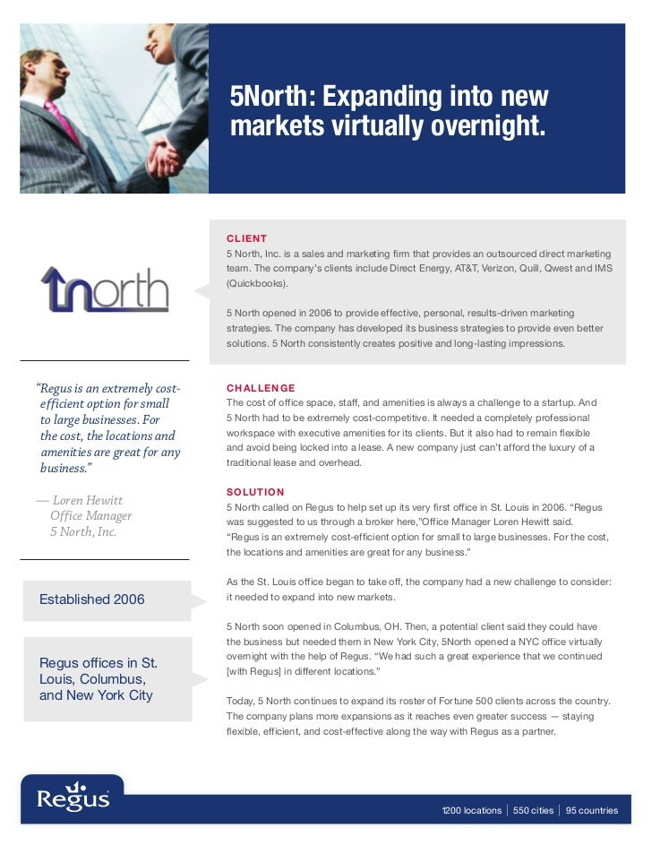 5North: Expanding into new                               markets virtually overnight.                               CLIE N...