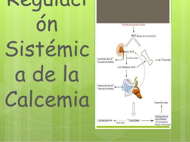 RegulaciónSistémica de laCalcemia