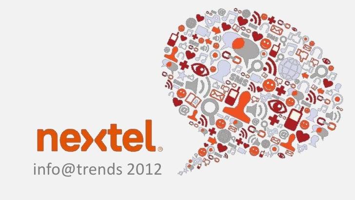 info@trends 2012