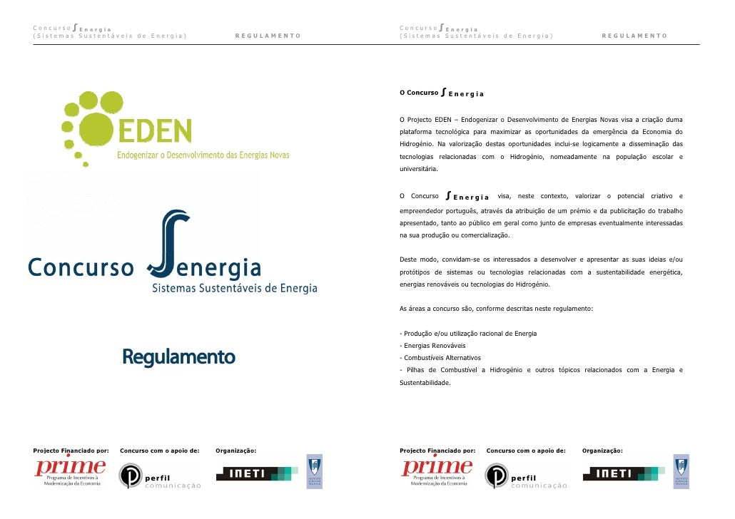 Concurso∫Energia                                                         Concurso∫Energia (Sistemas Sustentáveis de Energi...