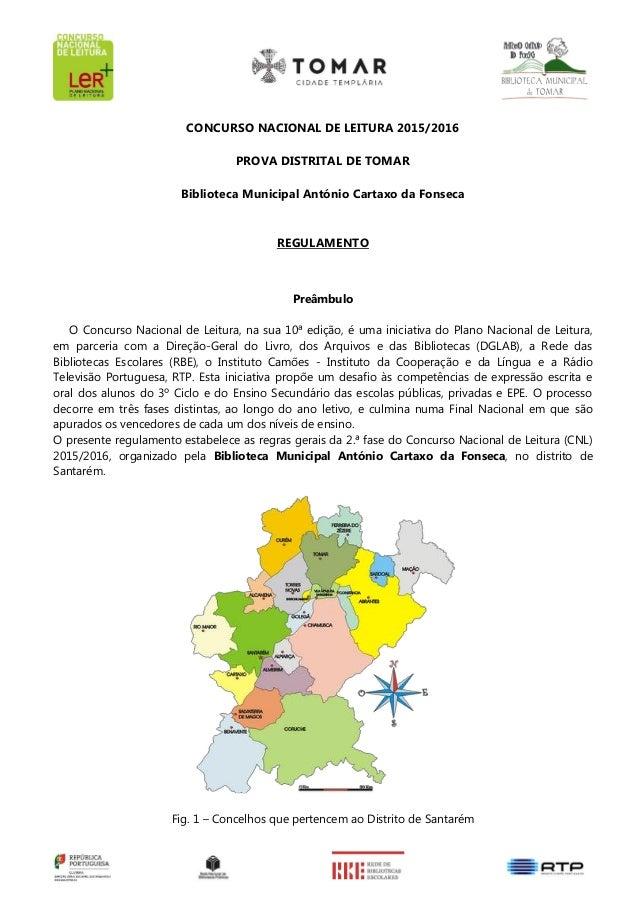 Regulamento concurso nacional leitura 2016 fina l for Concurso para profesores 2016