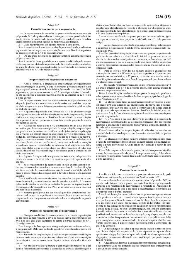 Regulamento dos exames_2017_desp normativo nº 1-a-2017