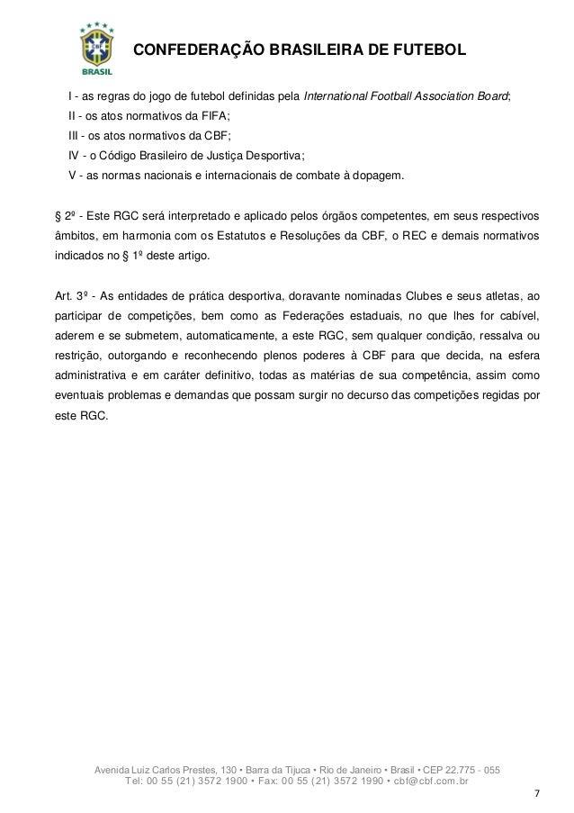 ... CBF  7. CONFEDERAÇÃO BRASILEIRA DE FUTEBOL ... e74a18c0adbf4