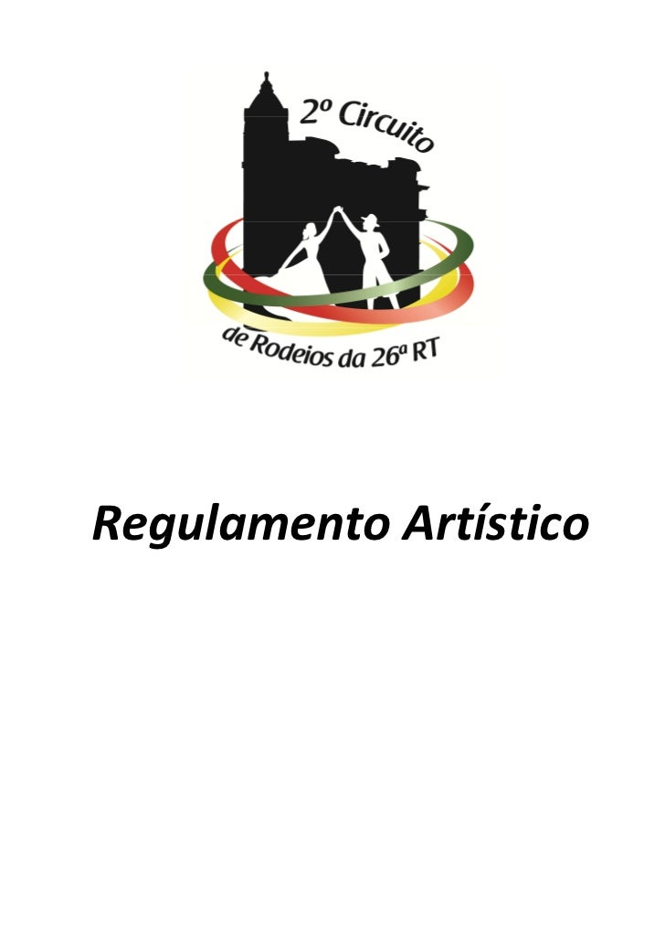 Regulamento Artístico