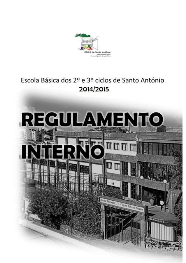 Escola Básica dos 2º e 3º Ciclos de Santo António Ano letivo 2013/2014 ÍNDICE