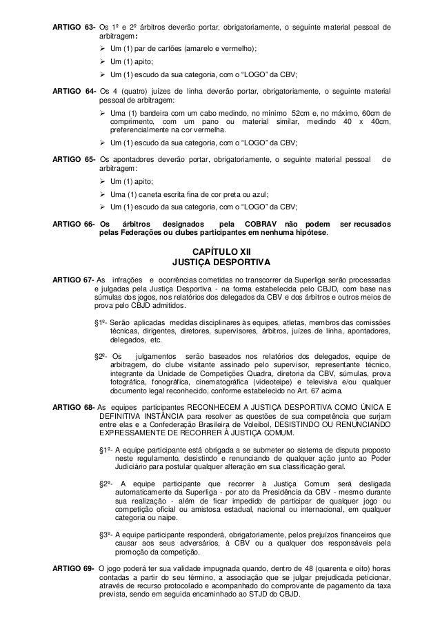 Regulamento oficial superliga 2013 2014