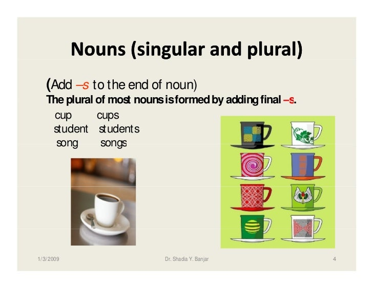 regular and irregular plural nouns list pdf