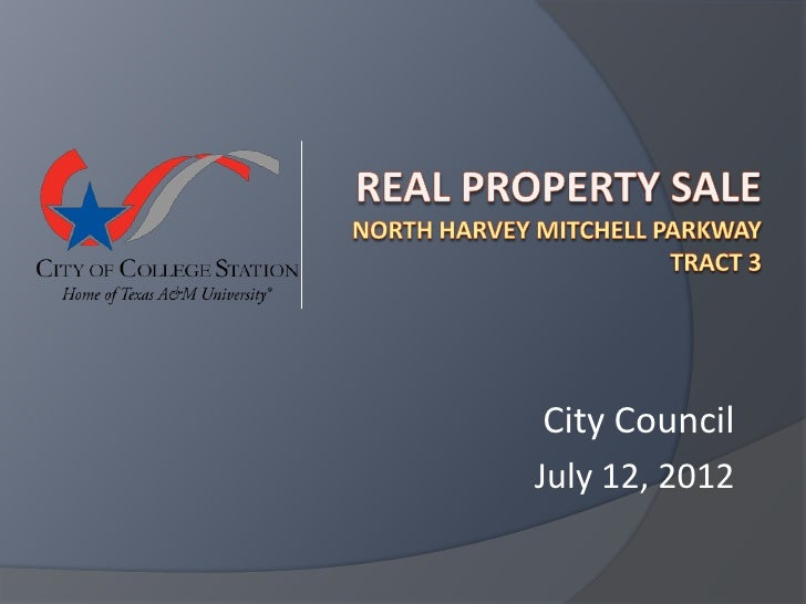 City CouncilJuly 12, 2012