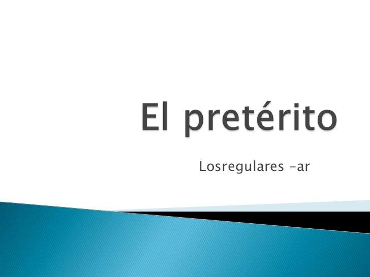 Losregulares -ar