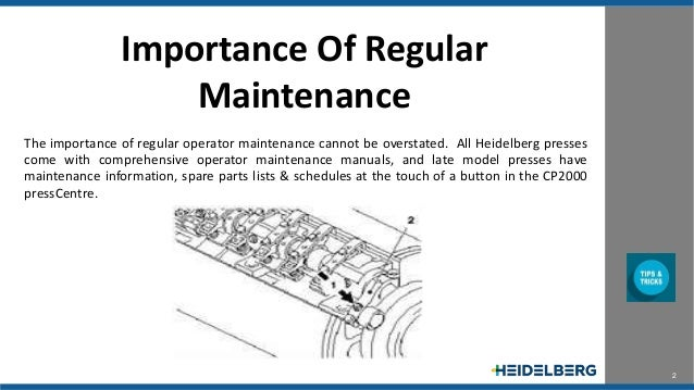 REGULAR MAINTENANCE