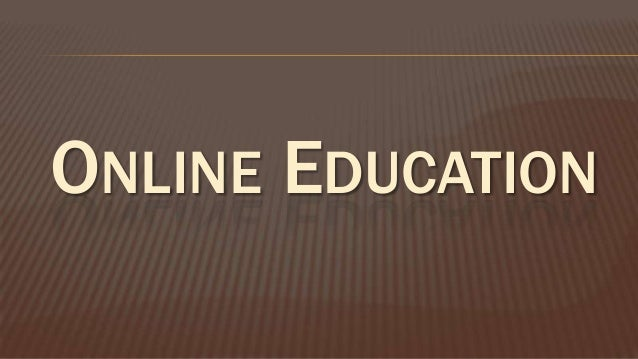 traditonal education vs online education Not too long ago, online education offered no competition to traditional education  today, online education competes with traditional education on every level.