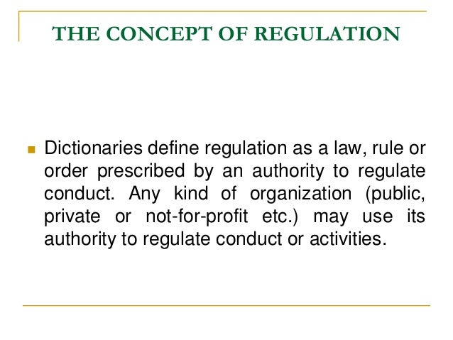 Regulation | Definition of Regulation by Merriam-Webster