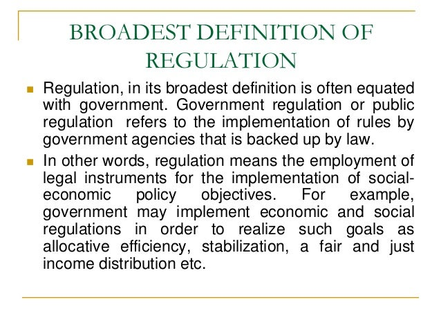 Regulation - Wikipedia