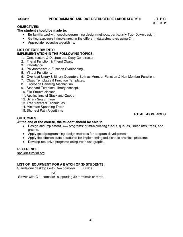 anna university syllabus regulation 2013 rh slideshare net Duke Lab Manual General Chemistry Lab Manual