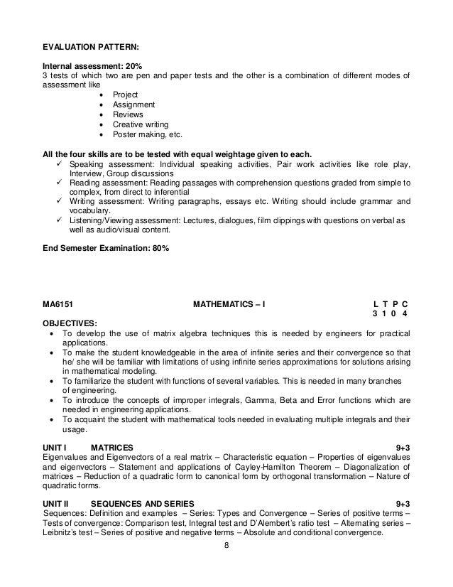 anna university syllabus regulation 2013