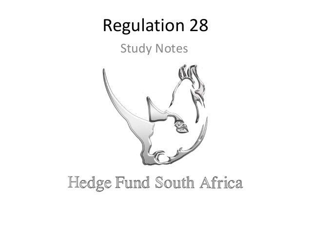 Regulation 28 Study Notes