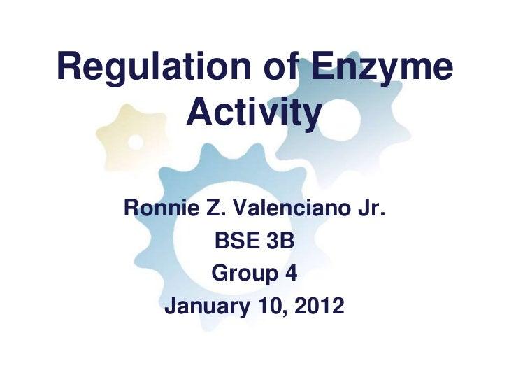 REGULATION OF ENZYME ACTIVITY EPUB DOWNLOAD