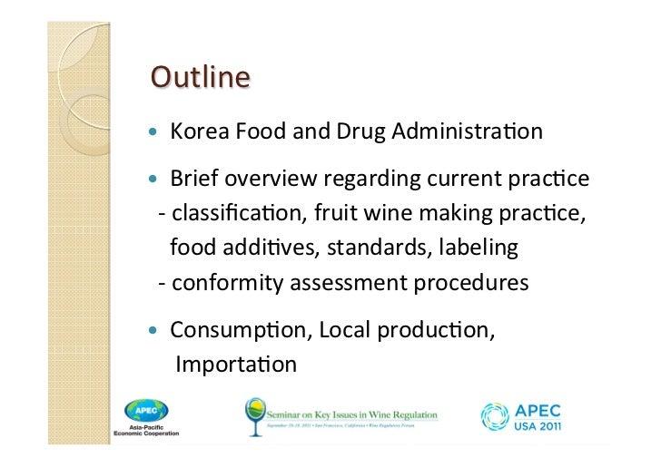 Regulation of Wine 2011