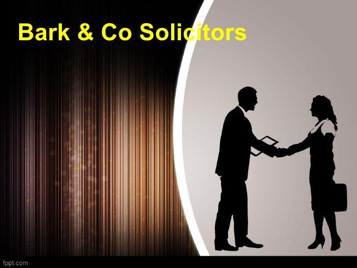 Bark & Co Solicitors