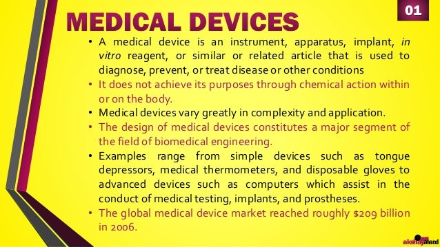 Regulatory Approval Process for Medical Devices in EU - Presentation by Akshay Anand Slide 3