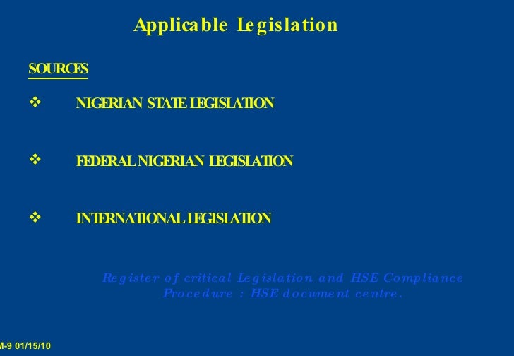 department of petroleum resources environmental guidelines and standards for the petroleum industry  Wwwstakeholderdemocracyorg.