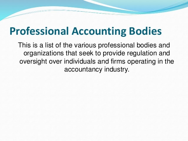 accounting complying together with regulation essay