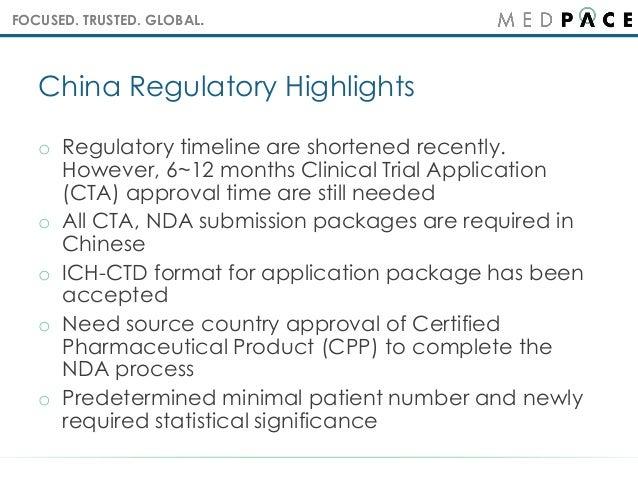 Regulatory Highlights and Drug Development in China Slide 3