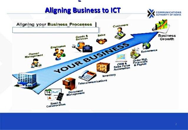 Aligning Business to ICTAligning Business to ICT 2
