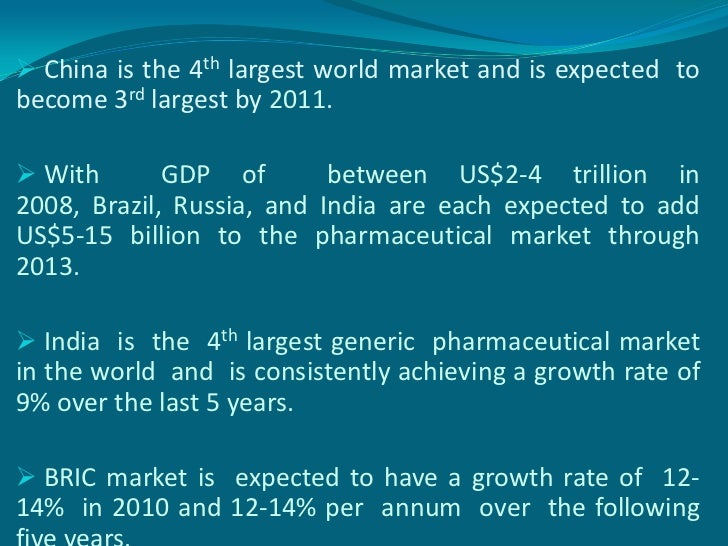 Regulatory trends of pharmaceuticals i bric countries 4 fandeluxe Choice Image