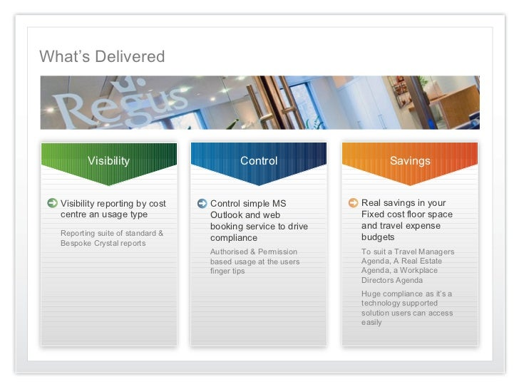 What's Delivered         Visibility                       Control                   Savings  Visibility reporting by cost ...