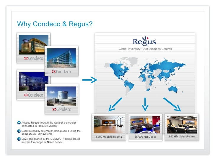 Why Condeco & Regus?                                                                    Global Inventory 1200 Business Cen...