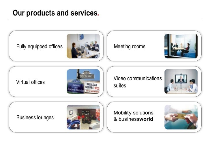 Regus Corporate Presentation