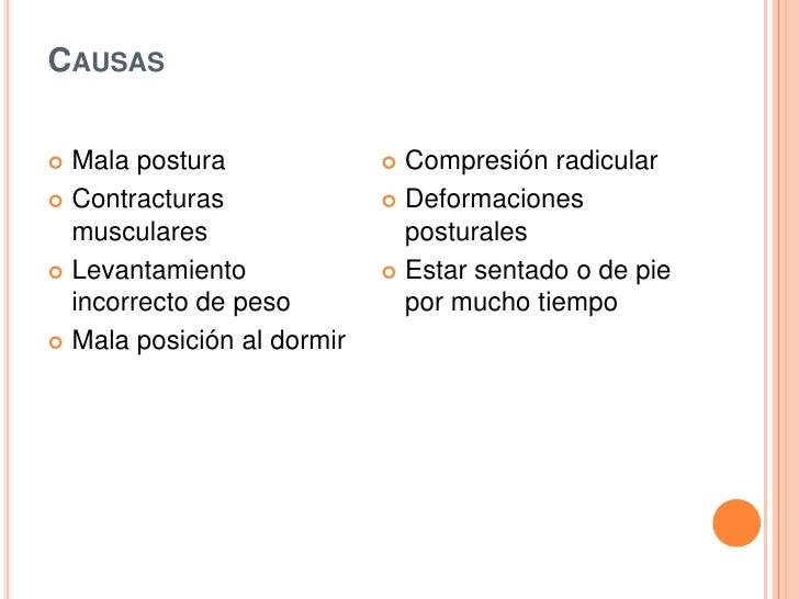 La osteocondrosis lumbar y el dolor en la ingle