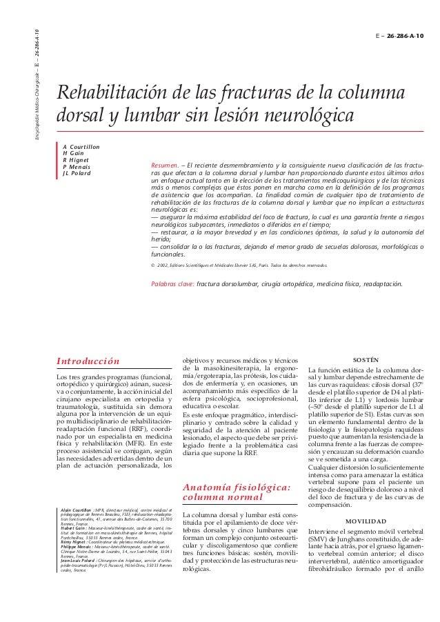 Encyclopédie Médico-Chirurgicale – E – 26-286-A-10                                                                        ...