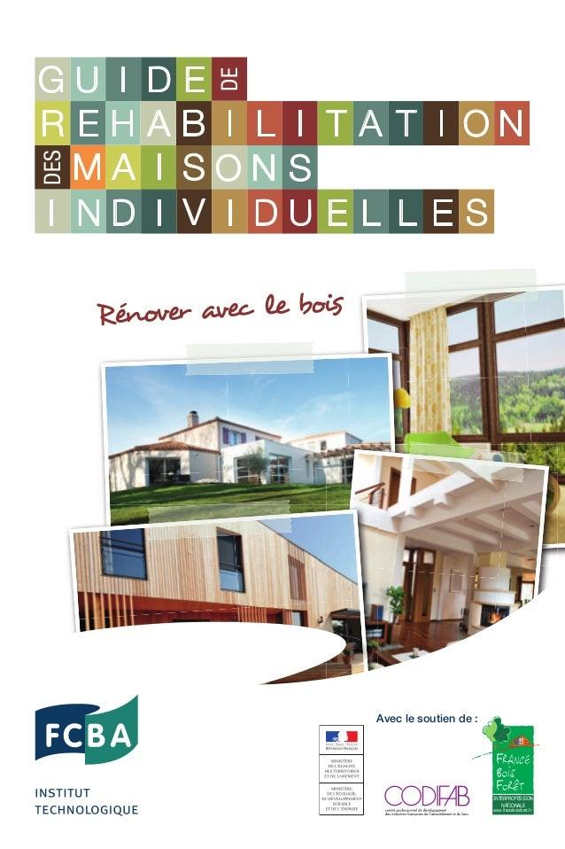 En France, environ la moitié des maisons individuelles ont été construites avant 1974, alors qu'il n'existait encore aucun...