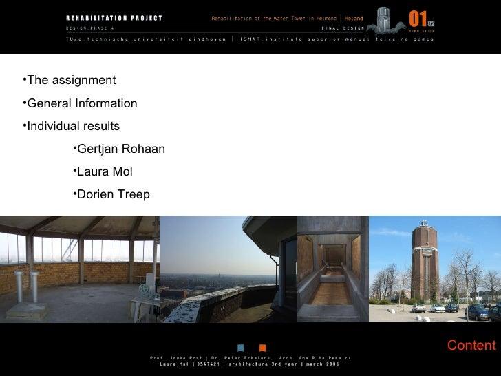 Content <ul><li>The assignment </li></ul><ul><li>General Information </li></ul><ul><li>Individual results </li></ul><ul><u...