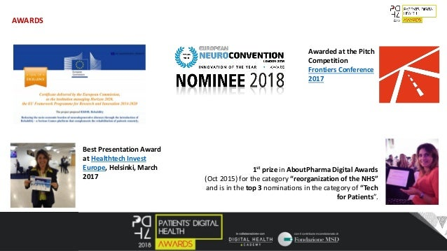 """8 1st prize in AboutPharma Digital Awards (Oct 2015) for the category """"reorganization of the NHS"""" and is in the top 3 nomi..."""
