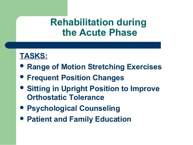 post stroke rehabilitation Winstein et al guidelines for adult stroke rehabilitation and recovery e3 the central driver of much of the system's organization and structure.