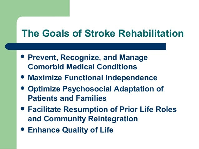 The stroke rehab team