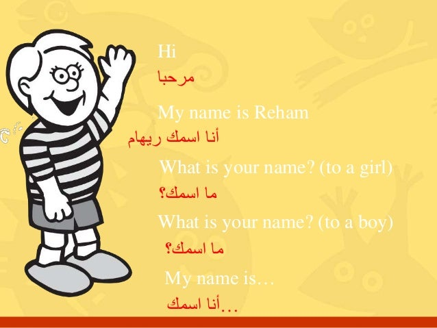 My Name Is Name: 'What Is Your Name' HW 1