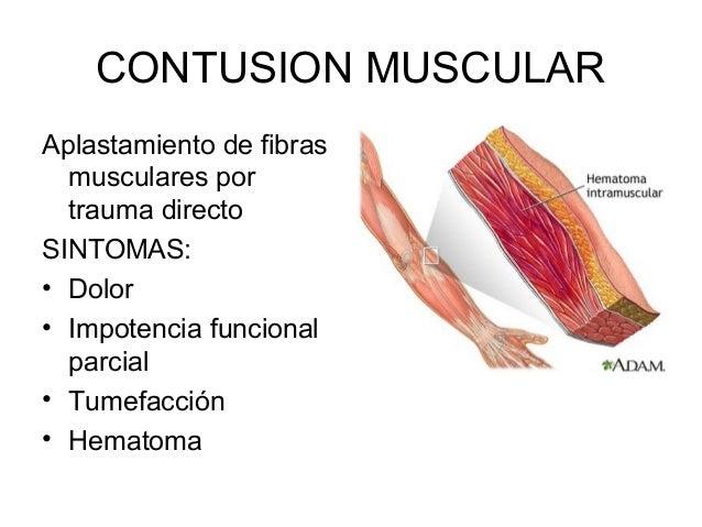 Rehabilitación de lesiones musculares