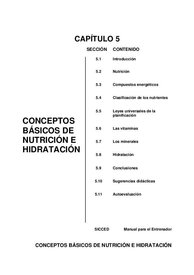 CAPÍTULO 5                  SECCIÓN     CONTENIDO                     5.1      Introducción                     5.2      N...