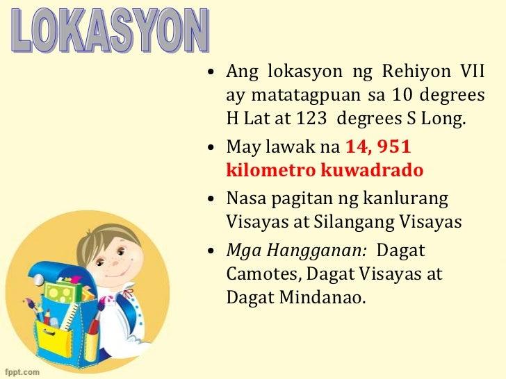 Rehiyon VII- Gitnang Visayas Slide 3