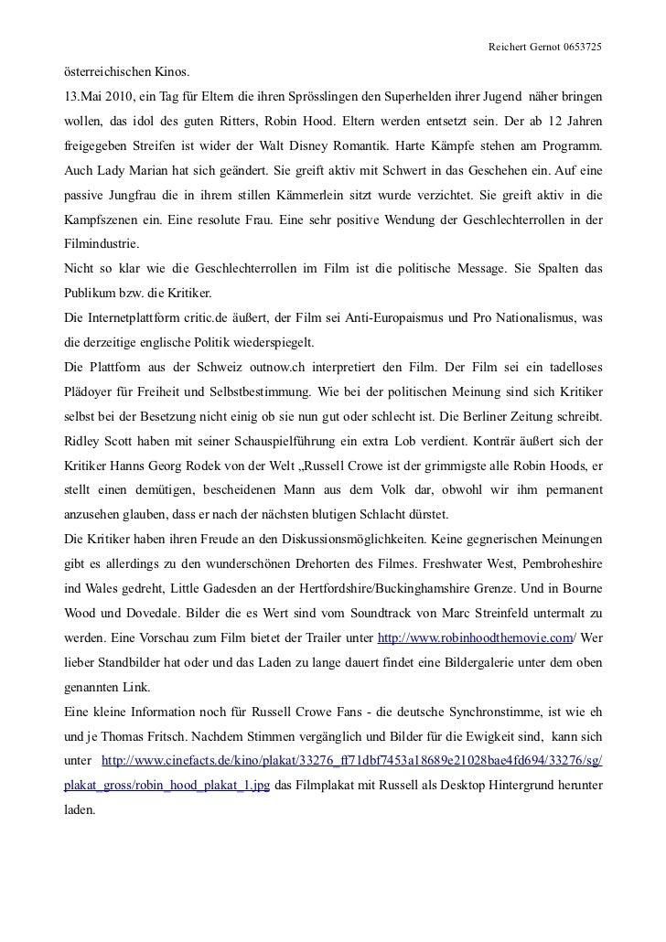 Reichert Gernot 0653725österreichischen Kinos.13.Mai 2010, ein Tag für Eltern die ihren Sprösslingen den Superhelden ihrer...