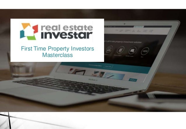 First Time Property Investors Masterclass