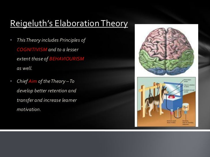 REIGELUTHS ELABORATION THEORY DOWNLOAD